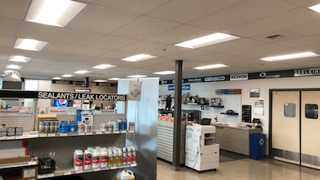 Lighting Retrofit Project Medford
