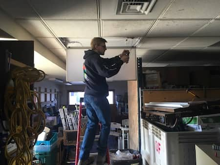 Electrician contracting services in Medford