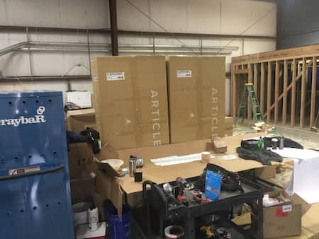 Computer Cabling Project In Ashland