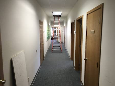 Data Cabling Project At Local Business