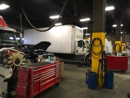 Lighting Retrofit Project Trucking Firm