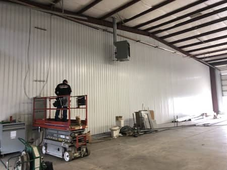Lighting Retrofit Project Trucking Firm