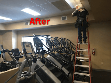 Electrician Services To Build A Local Store